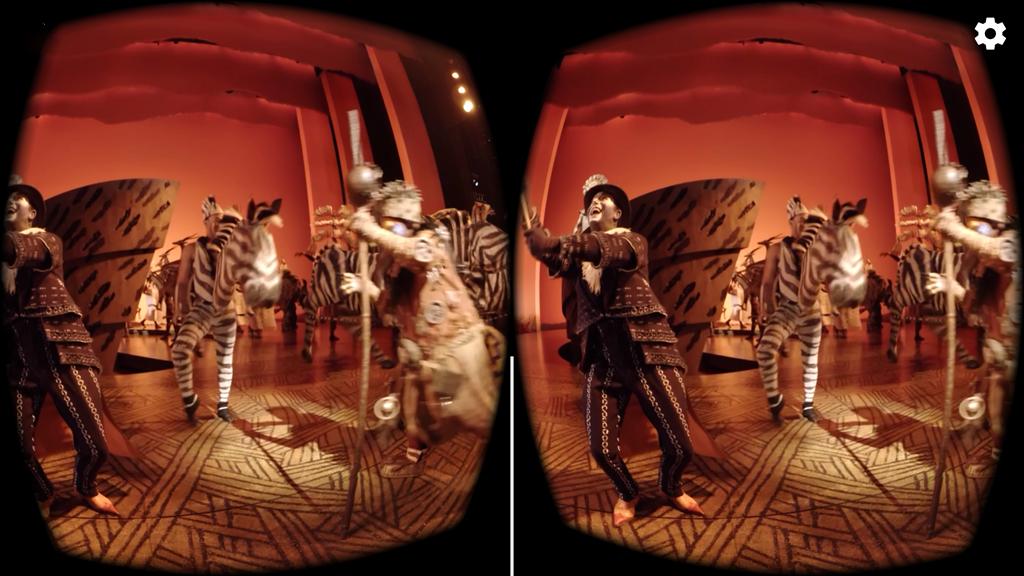 Broadway's Lion King 360 Video