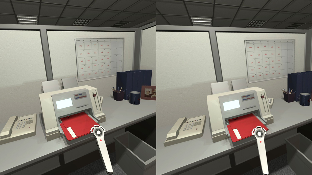 The Cubicle VR Game Screenshot