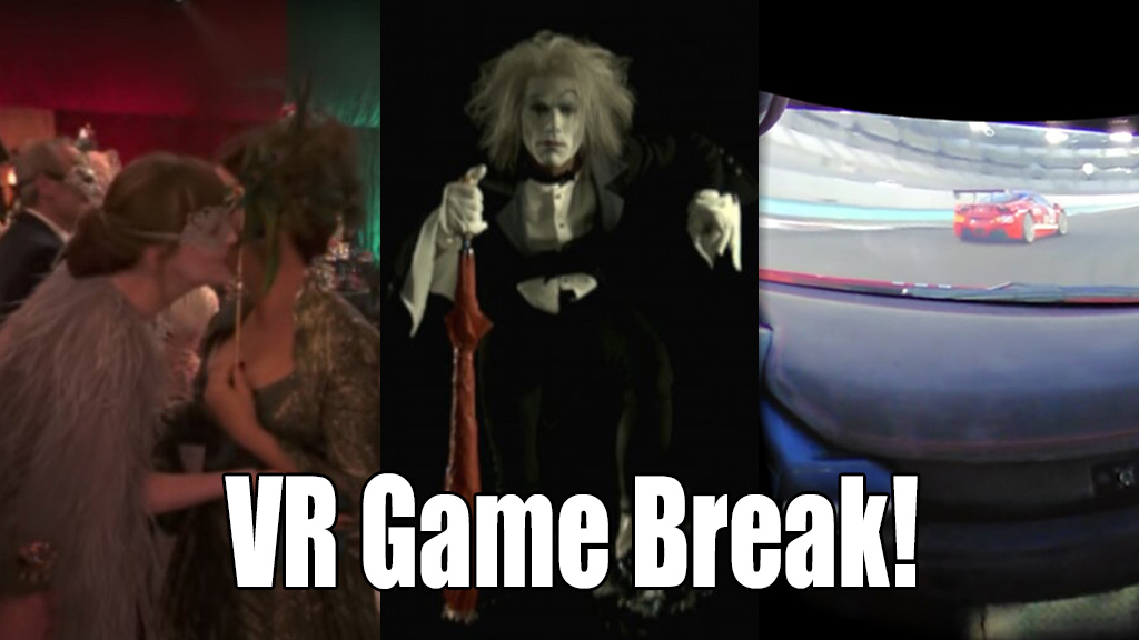 VR Game Break!