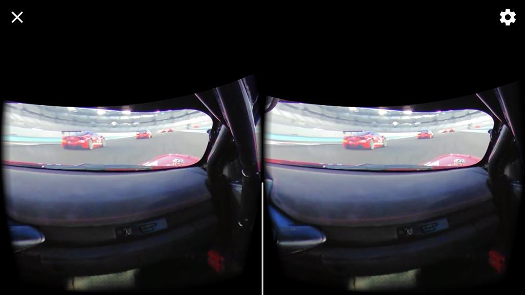VR Video - Racing