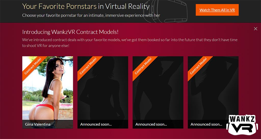 WankzVR - Adult VR Website